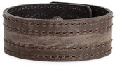 Frye Women's 'Melissa' Leather Snap Cuff