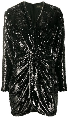 Dundas Twisted Sequin Dress