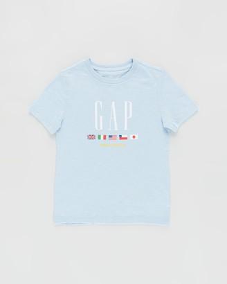 Gapkids Short Sleeve Worldwide Tee - Teens