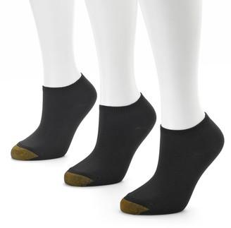 Gold Toe GOLDTOE 3-pk. Ribbed No-Show Socks - Women