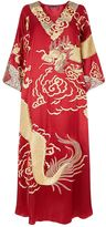 Natori Dragon Embroidered Kaftan