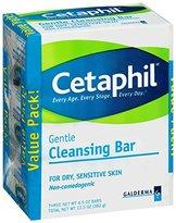 Cetaphil Cleansing Bar, 4.5 oz, 3 Count
