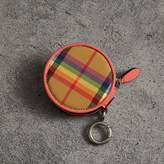 Burberry Rainbow Vintage Check Coin Case