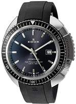 Edox Men's Quartz Watch HYDRO SUB 53200 3NGCA GIN with Rubber Strap