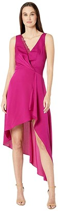 BCBGMAXAZRIA Eve Long Dress (Vivid Fuchsia) Women's Dress