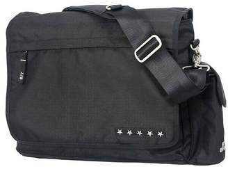 Ju-Ju-Be Messenger Changing Bag, Black Silver