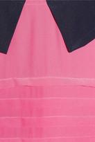 Marc by Marc Jacobs Bowery collar-appliquéd silk crepe de chine dress