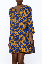 Aryeh Printed Shift Dress