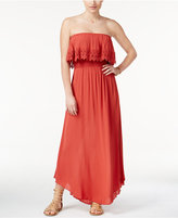 American Rag Strapless Popover Maxi Dress, Only at Macy's
