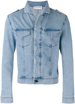 Gosha Rubchinskiy washed denim jacket - men - Cotton - L