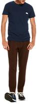 Scotch & Soda Garment Dyed Pocket Logo T-shirt, Indigo