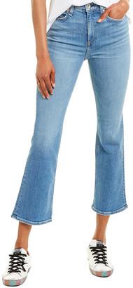 Rag & Bone Nina Gravel High-Rise Ankle Flare Leg