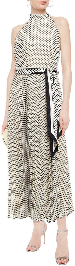 Thumbnail for your product : Zimmermann Sunray Picnic Belted Polka-dot Crepe Midi Dress