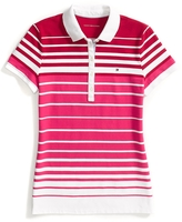 Tommy Hilfiger Heritage Fit Multi Stripe Polo