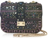 Embellished Glam Flap Shoulder Bag