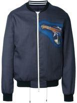 Loewe 'Gun' bomber jacket - men - Silk/Polyester - 46