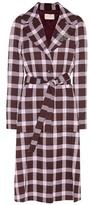 Christopher Kane Wool-blend coat
