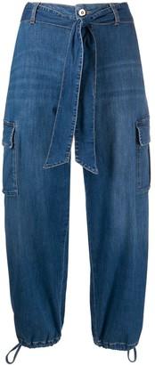 Liu Jo High-Rise Tapered Jeans