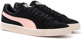 Puma X Alife Valentine Black Rose Birch Suede Trainers