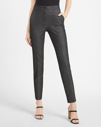 Express High Waisted Seamed Front Ankle Pant