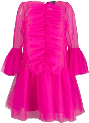 Gianluca Capannolo Ruffled Tulle Dress