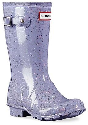 Hunter Girl's Original Glitter Rain Boots