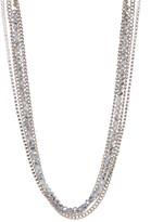 Joe Fresh Linked & Beaded Multi Row Necklace
