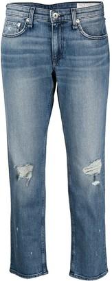 Rag & Bone Dre low-rise slim jeans