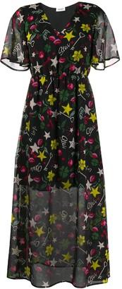 Liu Jo Long Printed Dress