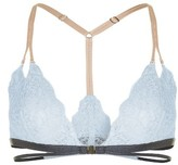 Topshop Women's Strappy Lace Triangle Bralette