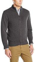 Dockers Cotton Solid Full Zip Cardigan