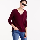 J.Crew V-neck swing sweater
