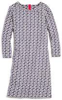 Vineyard Vines Girls' Etched-Whale Shift Dress - Little Kid