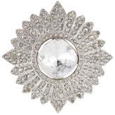 Kenneth Jay Lane Crystal Embellished Brooch
