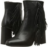Moschino Goat Fringe Bootie Women's Dress Boots