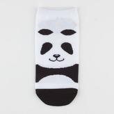 Full Tilt Panda Womens Ankle Socks
