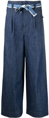 Incotex High-Waisted Flared Jeans