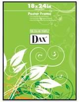 Dax 18-Inch x 24-Inch Black Poster Frame