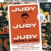 "Crate & Barrel Judy Garland ""Judy at Carnegie Hall"""