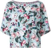 Antonio Marras boxy fit floral top