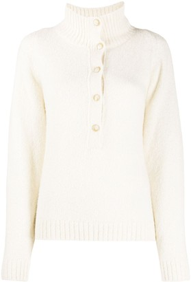Masscob Button Down Collar Jumper