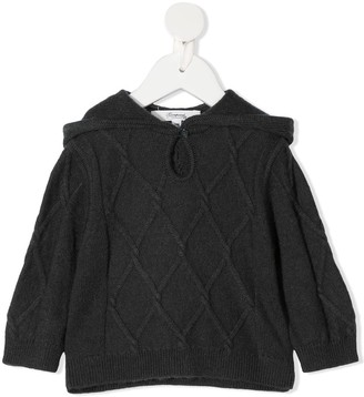 Bonpoint Knitted Long-Sleeved Hoodie