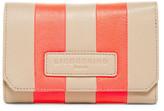Liebeskind Berlin Elisa Striped Leather Wallet
