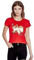 GUESS Women's Halyn Rooster Tee