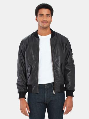 Deadwood Combo Original Leather Bomber Jacket
