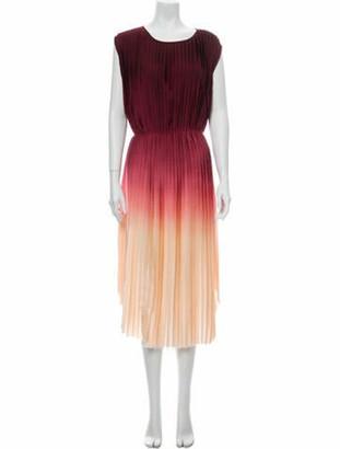 Ulla Johnson Scoop Neck Midi Length Dress