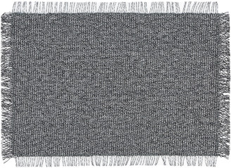 Chilewich Market Fringe Rectangle Place Mat - Shadow
