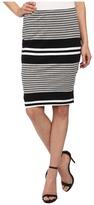 Three Dots Pencil Skirt w/ Side Vents