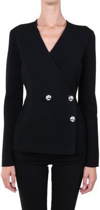 Jil Sander Buttons Blazer Black