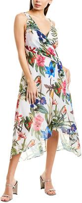 Parker Asymmetric Midi Dress